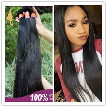 2016 Newest arrival unprocessed 7A straight wave peruvian virgin hair