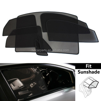 2017 Mesh car sunshade,magnet sunshade for Audi Q5