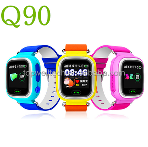 Hot sale SOS Emergency Call Kids gps watch phone 3g wifi Kids GPS Smart Watch Q90 Q60 Q50