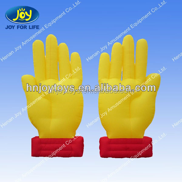 Attractive Giant shape Inflatable balloon for sale , cute finger shape ,Advertising inflatable fist for sale