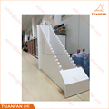 Customized Powder Coated MDF Ceramic and Percelain Flooring Tile Waterfall Display Stand