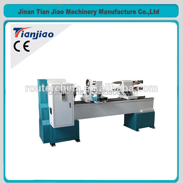TJ-1530 baseball bat/staircase/sofa/bed/chair/table legs automatic cnc wood turning lathe machine for sale