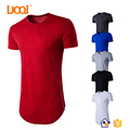Oem Factory Curved Hem Custom Men T Shirt Cotton 100