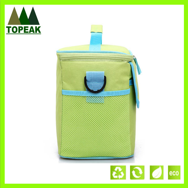 600D Polyester Insulated Cooler Bag With Handle Bubbles Compact Cooler Bag
