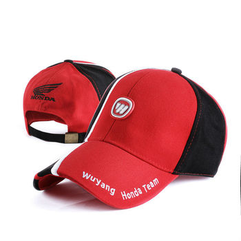 Car Brand cotton twill fashion design custom embroidery casual caps hats men