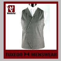 Good Quality Hotsell Black Men Suit Vest