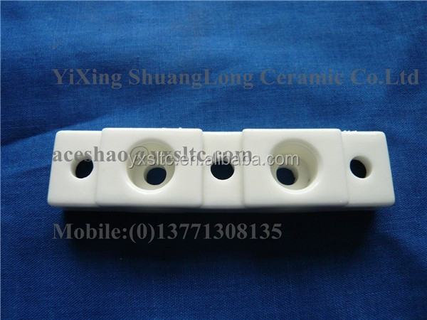 96% alumina ceramic plate electrical steatite zirconia insulation pipe and tube