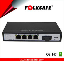 Support IEEE802.3x full-duplex flow control, support Auto MDI/MDIX 4-Port 10/100Mbps PoE Switch