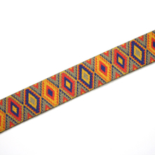 Best Sale african decorative custom wide ribbon for garments decoration