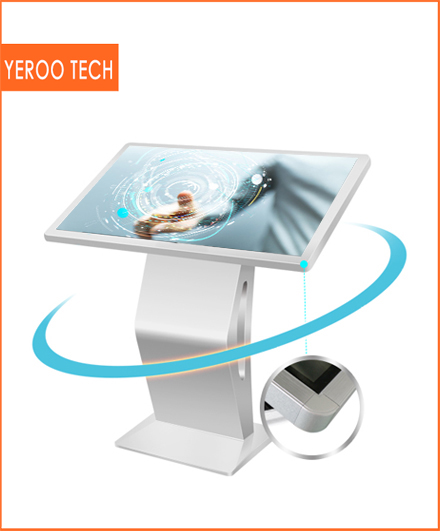 interactive multi touch table all in one 43 inch K type android tablet kiosk stand digital display