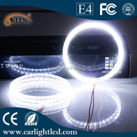 Waterproof Auto led car 3.6W 95mm cob Halo ring LED Fog light with angle eyes super lamp fog lighting