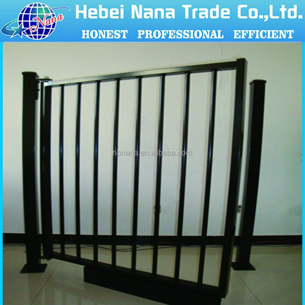 factory main gate designs / factory security gate metal pedestrian gate