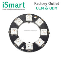 RGB LED Ring 8 Bits LEDs