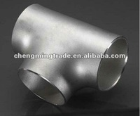 Carbon Steel Welded/Seamless Equal & Reducing Tee GB /ASTM / DIN / JIS Sch10-XXS