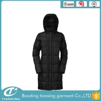 2016 new fashion women down jacket for winters