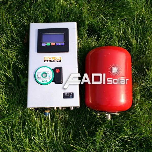 2017 China Famous Fadi Solar Water Heaters (Double Coiler 200Liter)