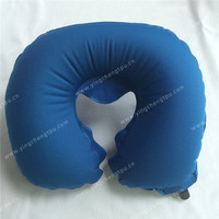 Ultra Light Inflating Travel Neck Pillow / C shape/Custom