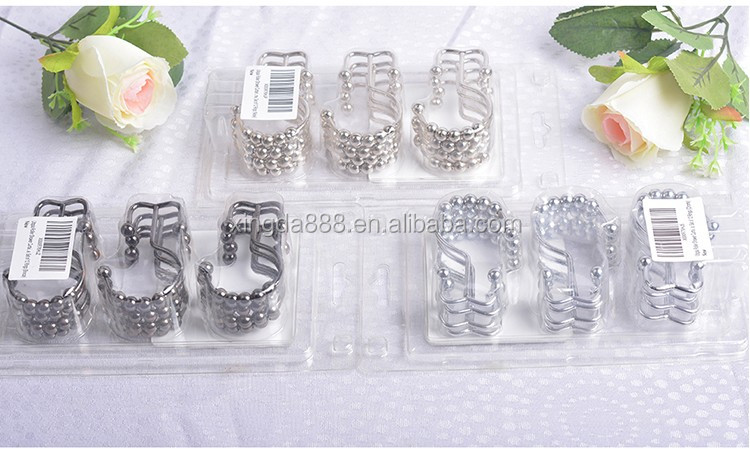 Shower Curtain Hooks 100 Material 304stainless Steel