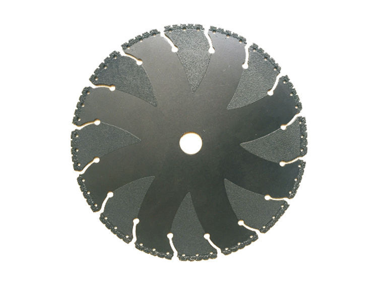 Multi-purpose Vacuum Brazed Great Wall Teeth Diamond Cutting Saw Blade  Fire Rescue Safety Blade