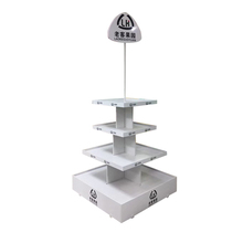 China manufacturer retail display racks for food stand candy sweets beverage snacks tea