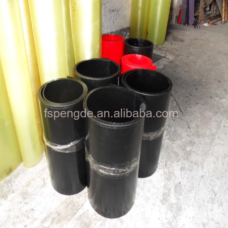 high friction rubber sheet polyurethane rubber sheet