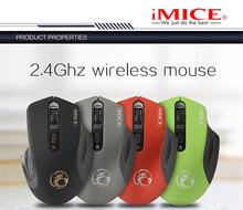 New 2.4GHz Wireless Mouse 1600DPI Optical Fashion Computer Mouse USB Receiver Gaming Mouse Ergonomic Design For PC Laptop MK72