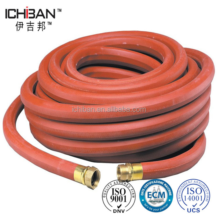 Good quality 8mm LPG gas NBR flexible orange color gas regulator rubber tube hose with ISO3821
