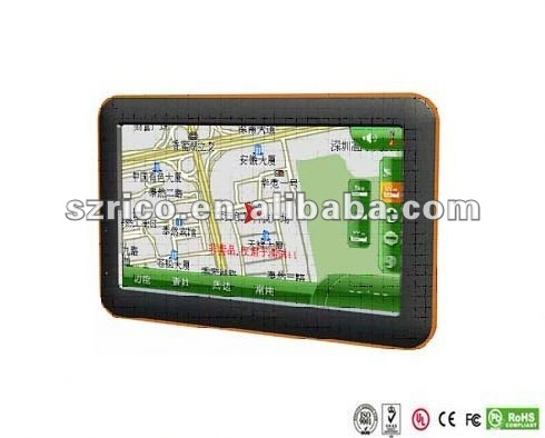 New android 2.3 tv gps tablet pc
