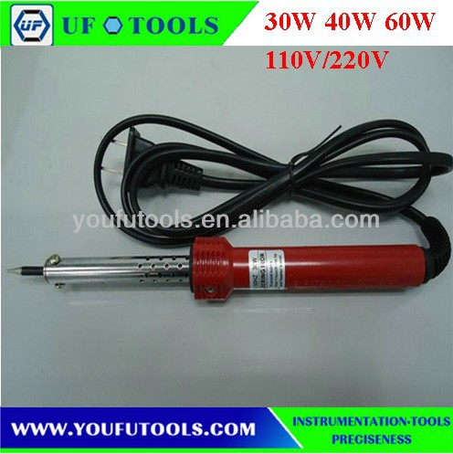 UF-8112 Extermal Heating Industry Electric Soldering Iron/Soldering Iron Gun 30W 40W 60W 220V/110V