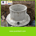 mini biogas plant waste water treatment equipment with water pump