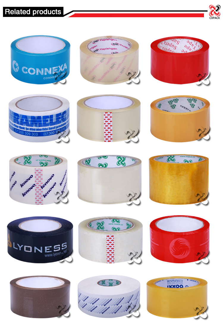 Hot selling in Iran markets super clear tape ,Clear Tape,High Quality OPP Crystal Clear packing Tape