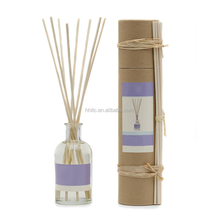 Nature Scent Glass Bottle Decorative Aroma Reed Diffuser Valentine's Day Gift Set