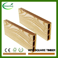Commercial plastic softwood sawn timber