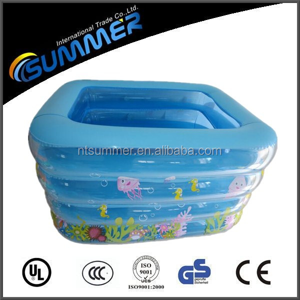 Wholesales inflatable cartoon wet pool