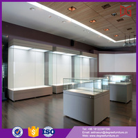 New Arrival Tempered Glass Museum Collectibles Display Cases