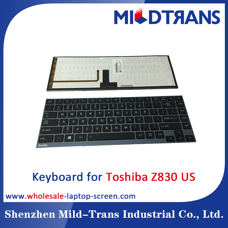 Notebook Internal Keyboard for Toshiba Z830 US language layout