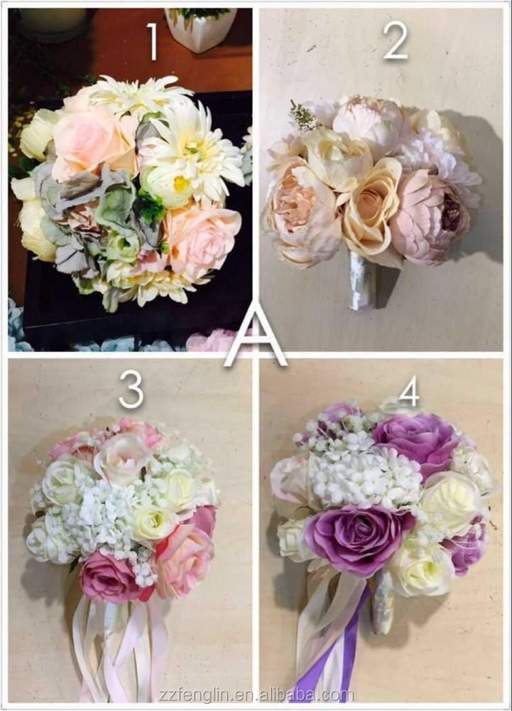 Buy Artificial Flower Bouquet Wedding Bouquet Wholesale Artificial