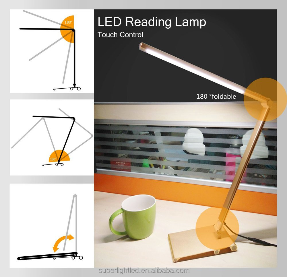 Factory wholesale 7w CE ROHS FCC certified led bar table lamp of China