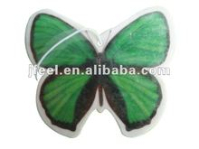 Air Freshener Hanging Tags,Butterfly Car Perfume Card with Sticker