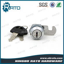 Safe Small Mailbox Drawer Disc Cylinder Cam Lock with Key