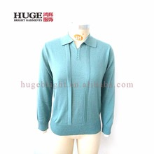 Latest Design Ladies Long Sleeve Cable Sweaters For Women