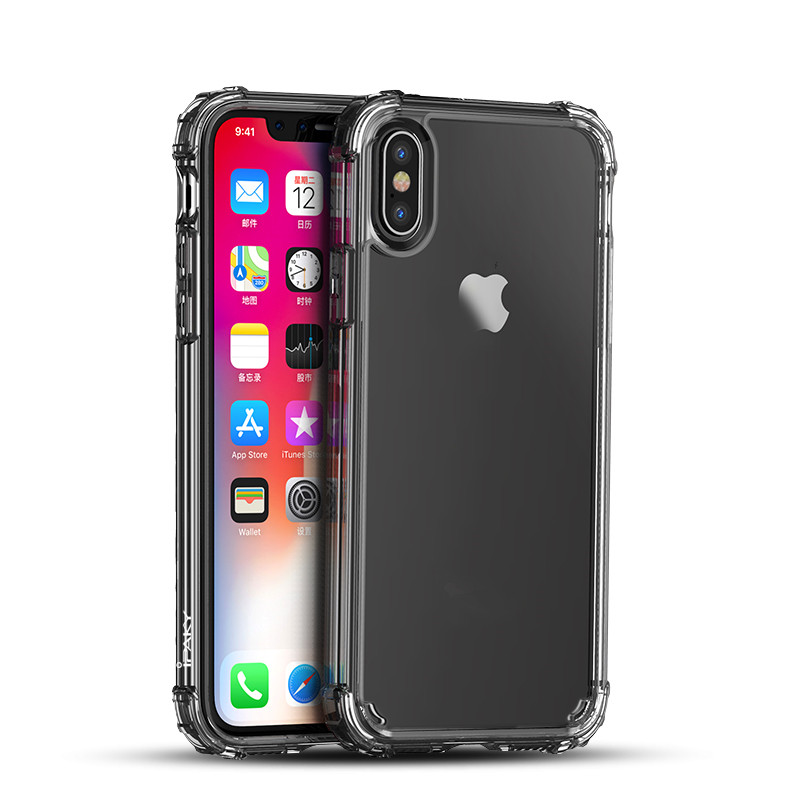 2018 Trending Products Clear PC And TPU Phone Cover for iPhone X
