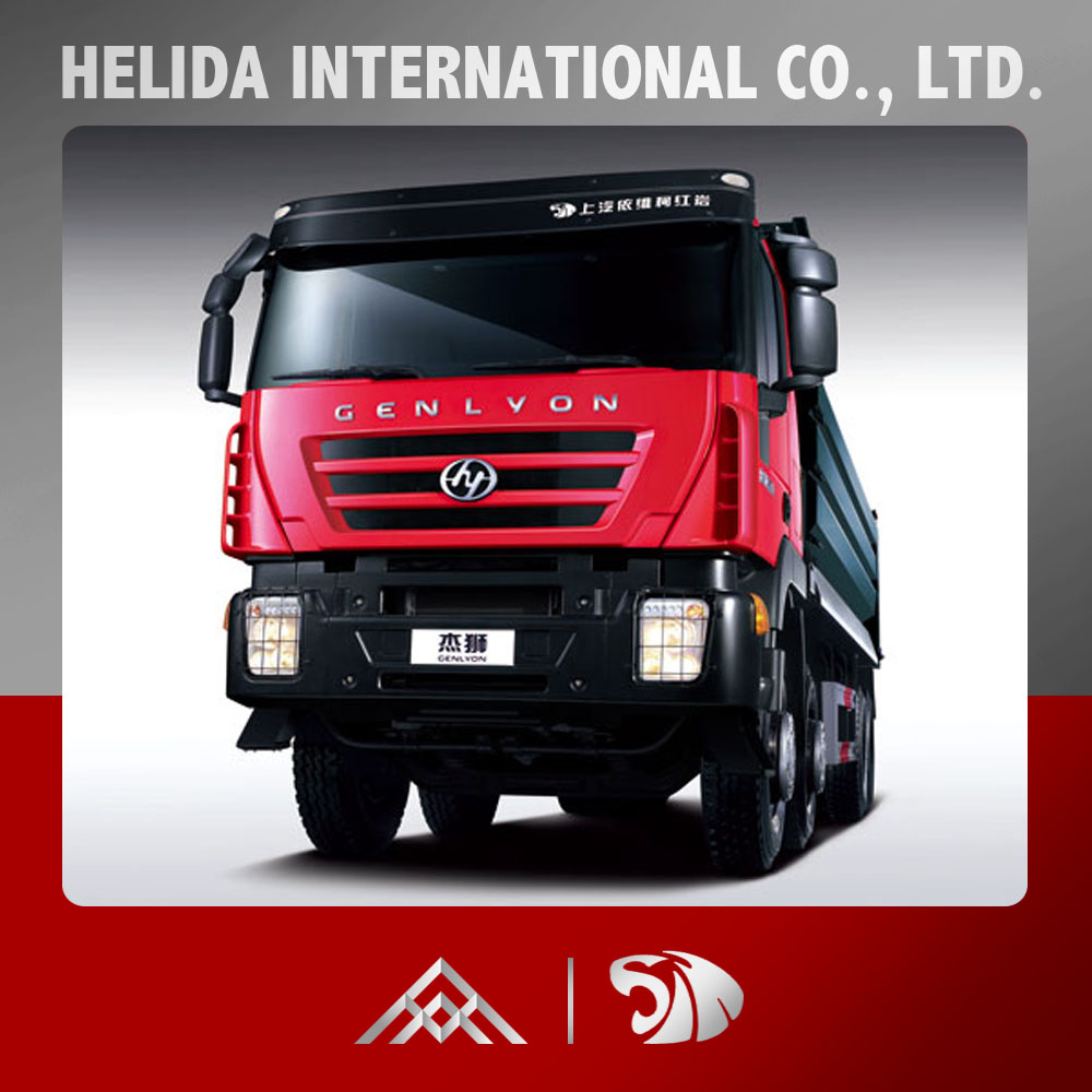 China Iveco Truck Genlyon 8x4 Dump Truck For Sale in Dubai