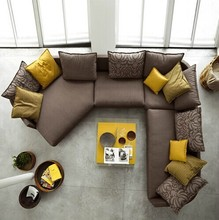 Wholesale price germany sectional corner sofa