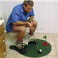 Toilet golf / new exotic sports golf / golf toys