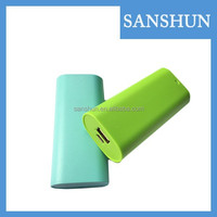 2016 Environmentally friendly 4400mAh mobile portable power bank for smart phone mobile phone