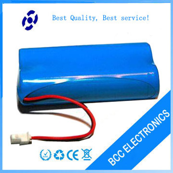 7.4V 18650 2200mAh lithium ion battery pack