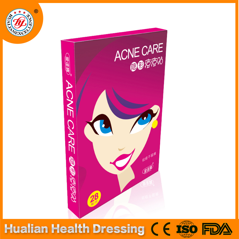Invisible hydrocolloid acne patch disposable plaster