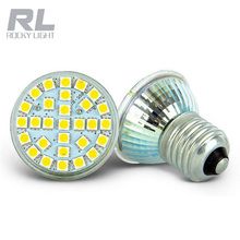 Led 5050SMD spotlight 15 degree Glass and Plastic led spotlight gu10 MR16 GU5.3