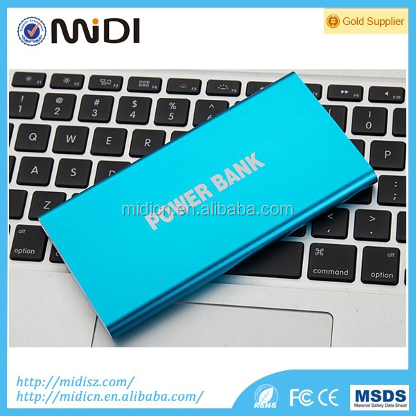 Custom Logo power bank 10000mah, mobile phone power supply for xiaomi